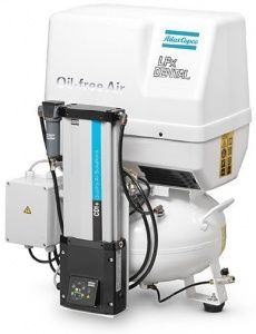 Atlas Copco LFx 0,7 D 1PH на ресивере(24 л)